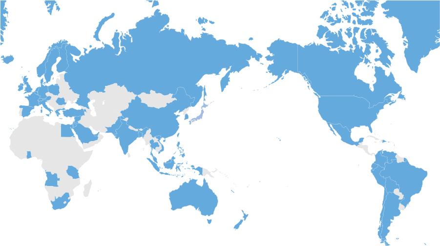 ネットワーク加入国